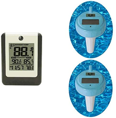 VIDEO  Ambient Weather WS-14-X2 Wireless 8-Channel Floating Pool and Spa Thermometer